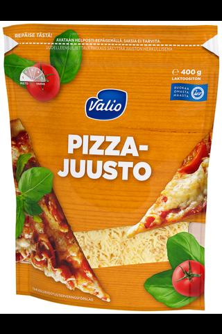 Valio pizzajuusto e400 g raaste