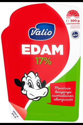 Valio Edam e300g 17% juustoviipale