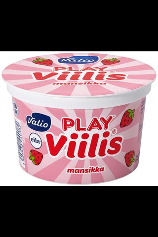 Valio Play 200g Viilis mansikka laktoositon