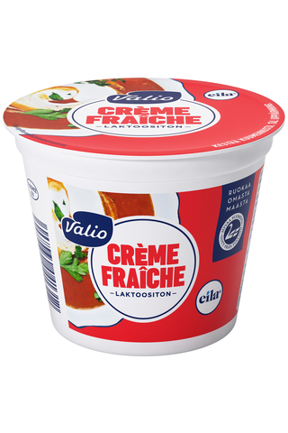 Valio crème fraîche 150 g laktoositon