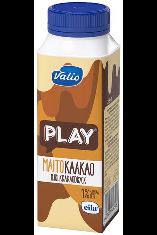 Valio Play maitokaakaojuoma 2,5 dl laktoositon