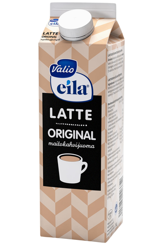 Valio Eila Latte original maitokahvijuoma 1 l laktoositon