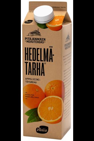 Valio Hedelmätarha appelsiinitäysmehu 1 l hedelmälihaa
