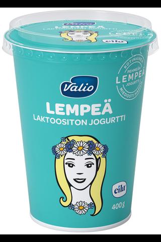 Valio Lempeä jogurtti 400 g laktoositon