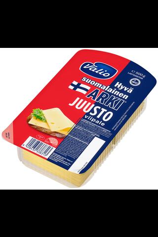 Valio Hyvä suomalainen Arki e500g juustoviipale