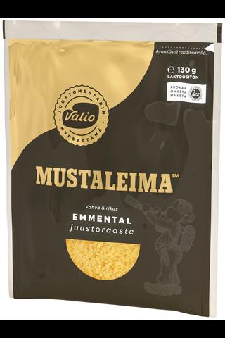 Valio Mustaleima e130g juustoraaste