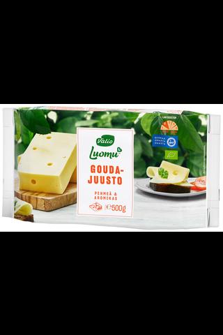 Valio Luomu e500g gouda juusto
