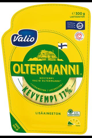 Valio Oltermanni 17 % e300 g viipale