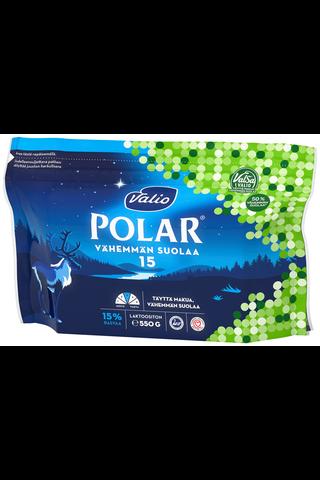 Valio Polar Vähemmän suolaa 15 % e550 g ValSa