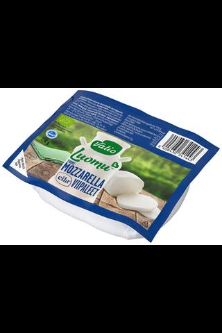 Valio Luomu tuoremozzarella 150 g viipaleet laktoositon