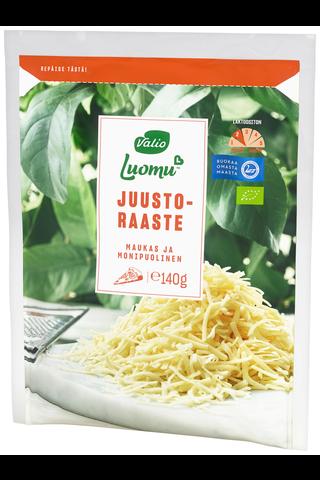 Valio Luomu juustoraaste e140 g