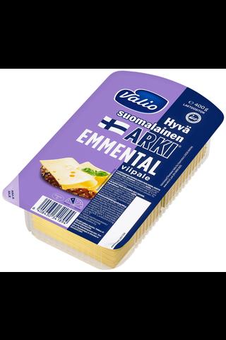 Valio Hyvä suomalainen Arki emmentalviipale e400 g