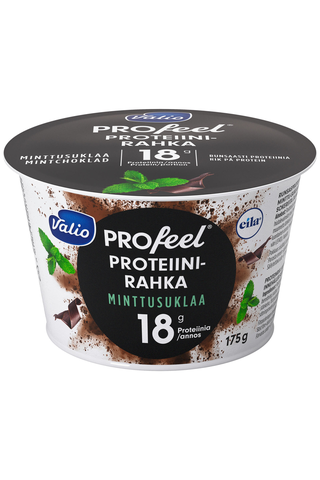 Valio PROfeel proteiinirahka 175 g minttu-suklaa laktoositon