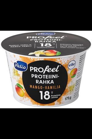 Valio PROfeel proteiinirahka sokeroimaton 175 g mango-vanilja laktoositon