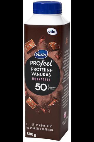 Valio PROfeel proteiinivanukas 500 g mokkapala laktoositon