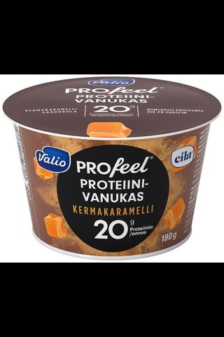 Valio PROfeel proteiinivanukas 180 g kermakaramelli laktoositon