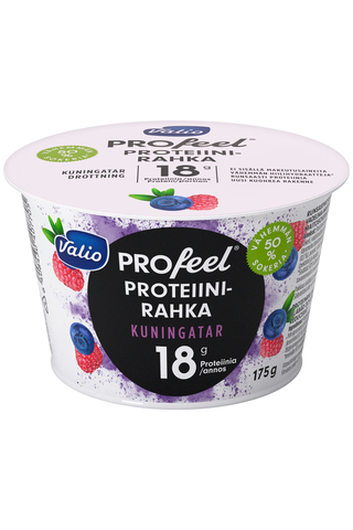 Valio PROfeel proteiinirahka 175 g kuningatar vähemmän hiilihydraatteja laktoositon