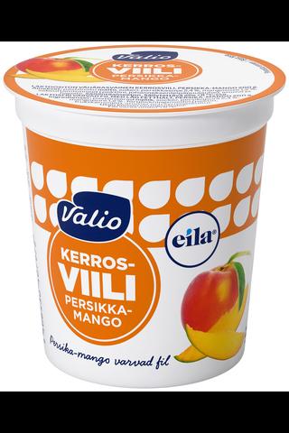 Valio 200g kerrosviili 1% persikka-mango laktoositon