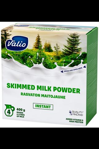 Valio rasvaton maitojauhe instant 400 g