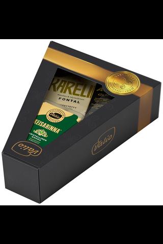 Valio musta juustolahjapakkaus 975 g
