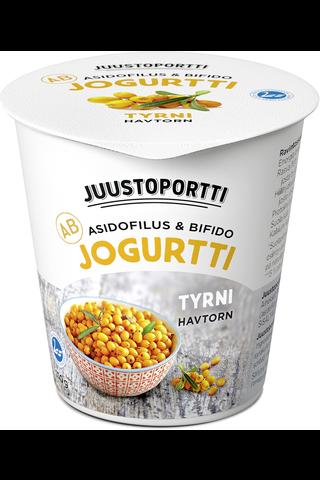 Juustoportti AB-jogurtti 150 g tyrni