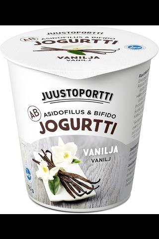 Juustoportti 150g AB-jogurtti vanilja