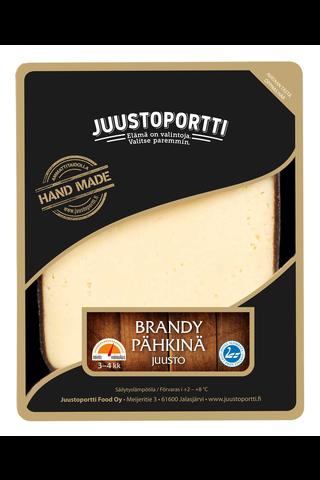 Juustoportti Brandy-pähkinäjuusto 175 g laktoositon