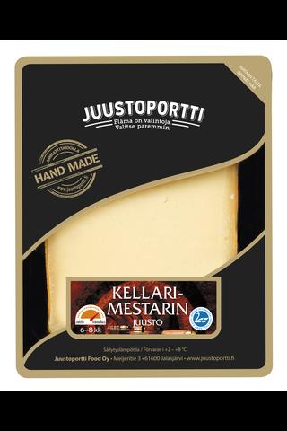 Juustoportti Kellarimestarin juusto 175 g laktoositon