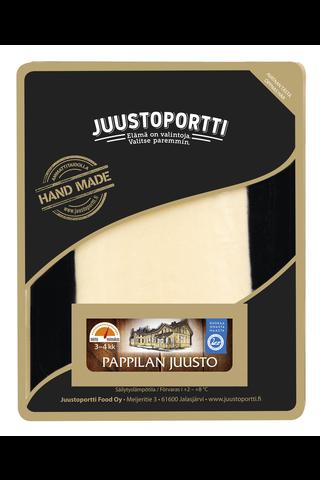 Juustoportti Pappilan juusto 175g suojakaasurasiassa