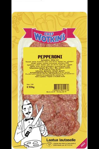 Chef Wotkin's 100g Pepperoni kestomakkara