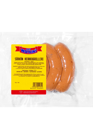 Chef Wotkin´s 400 g Sörkän Herkkugrilleri ruokamakkara