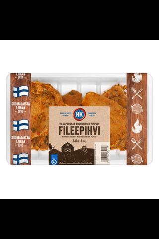 HK Viljapossun Fileepihvi ruohosipuli-pippuri 640g