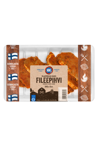 HK Viljaporsaan fileepihvi 640g Ranch