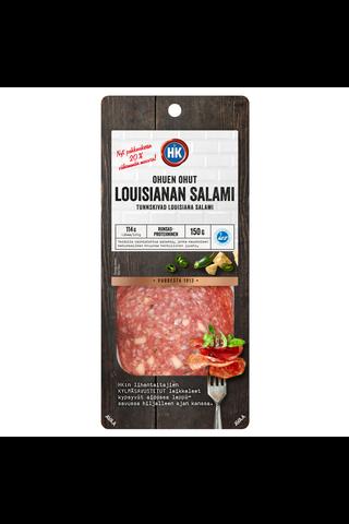 HK Ohuen ohut Louisianan salami 150 g