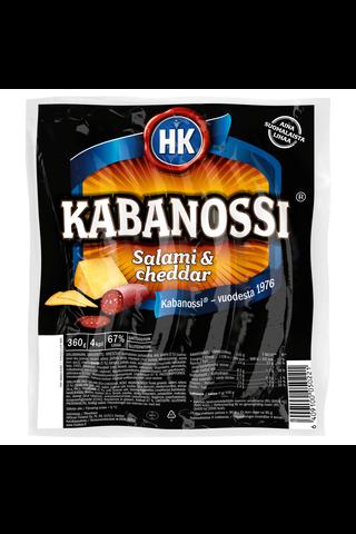 HK Kabanossi Salami & Cheddar 360g