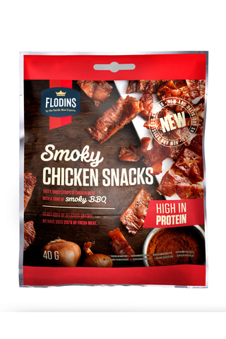 Flodins 40g Smoky Chicken Snack