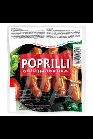 400g Poprilli® Grillimakkara