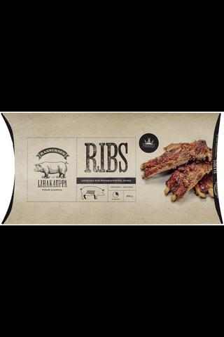 Kannuksen lihakauppa Louisiana ribs 900 g