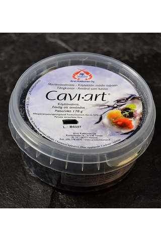 Merilevävalmiste (mäti), musta Cavi-Art 8 x 170 g