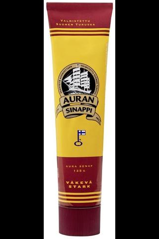Auran 125g väkevä sinappi