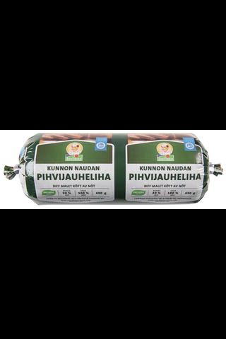 Snellman Kunnon naudan pihivijauheliha 20% 650g
