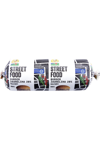 Snellman Street food burgerjauheliha 20% 650g