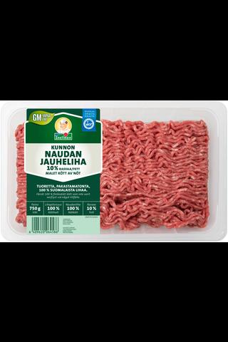 Snellman Kunnon naudan jauheliha 10% 750g