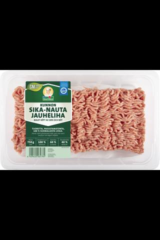 Snellman Kunnon sika-nauta jauheliha 750g