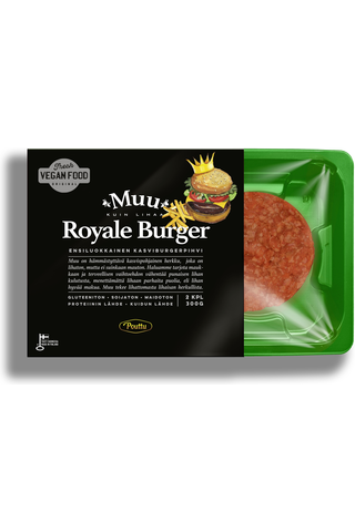 Muu Royal Kasvi burgerpihvi 300 g