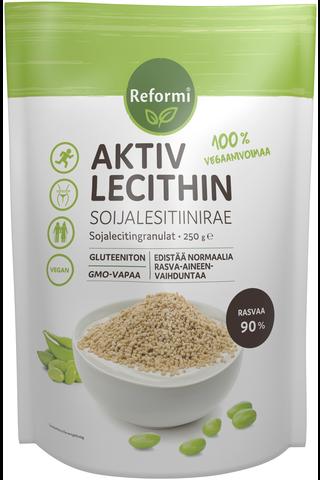 Reformi Aktiv Lecithin soijalesitiinirae 250g ravintolisä