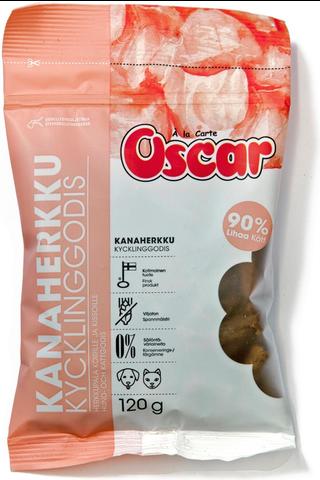 Oscar Kanaherkku koirille ja kissoille täydennysrehu 120g
