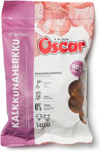 Oscar Kalkkunaherkku koirille ja kissoille täydennysrehu 140g