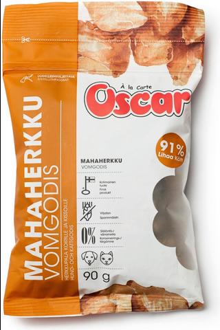 Oscar Mahaherkku koirille ja kissoille täydennysrehu 90g