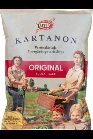 Taffel Kartanon original suolattu perunalastu 180g